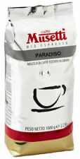 More details for musetti coffee espresso paradiso 80% arabica  20% robusta 1000g 1kg beans