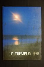1979 Le Tremplin York Country Day School York PA Unsigned Yearbook