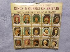 Kings & Queens of Britain -Complete Issue of 41 Stamps Set-Stamp Collection-Rare