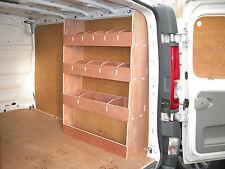 Renault Trafic Van Racking SWB  Storage Unit, Shelving,Van Plywood Racking