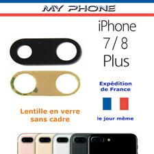 Anneau protection Lentille CAMERA IPHONE 7 / 8 PLUS ROSE verre photo arrière