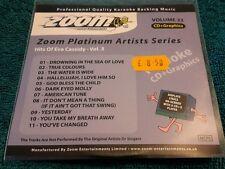 Karaoke cdg disc Zoom Platinum Arts.ZPA33 Eva Cassidy 3,see descript.11 trks