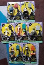 Nightmare Before Christmas Action Figures 7pc 1993 Hasbro NRFB Jack Sally Disney