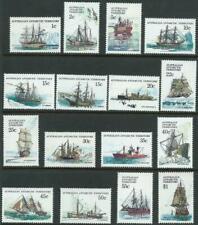 AAT - 1979-1982 'SHIPS OF THE ANTARCTIC' Set of 16 MNH SG37-52 [A9926]