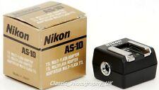 NIKON AS-10 Adapter - TTL Multi-Flash Adapter for SC-23 SC-18 SC-26 SC-19 SC-27