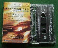Rachmaninov & Piano Greats Chopin / Liszt + Classic FM Cassette Tape - TESTED