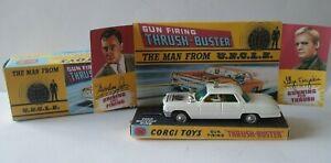 CORGI 497 - THE MAN FROM U.N.C.L.E. 'THRUSH BUSTER' 1966 - 'WHITE'