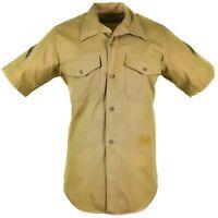 Genuine U.S army field shirt military BDU Khaki short sleeve