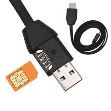 USB MINI CAVO GSM SPY MICROSPIA NASCOSTO Peil DISPOSITIVO SPIA GPS Tracker per
