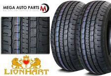 2 New Lionhart LH-HTP LT235/85R16 120/116Q Premium All Season Light Truck Tires