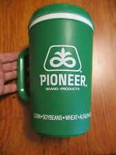 VINTAGE 32 oz ALADDIN~PLASTIC THERMOS /CUP~PIONEER BRAND PRODUCTS ADVERTISING