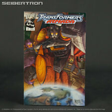 Transformers ARMADA #3 Dreamwave Comics DW 2002 (W) Sarracini (A/CA) Raiz