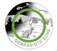 5 Euro Gedenkmünzen / Sondermünze Deutschland 2019 Gemässigte Zone Motiv Hase