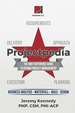 Projectpedia by PMI-ACP, CSM  New 9780997881301 Fast Free Shipping,,