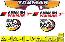 Yanmar Vio 20 bagger-aufkleber-satz