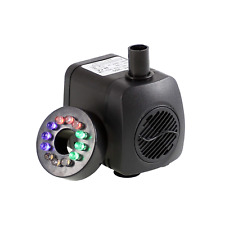 Submersible Water Pump With 12 Colorful Led Light For Aquarium Pond Fountain