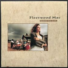 """1990 Fleetwood Mac Lp Record Store Display Sign - Advertising """"Behind The Mask"""""""