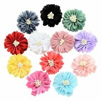 12pcs Fashion Baby Girl Toddler Kids Children Flower Hair Bow Clips Barrettes