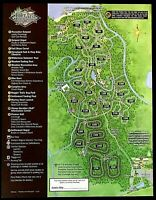 NEW 2020 Walt Disney World Fort Wilderness Resort Map + 7 Theme Park Guide Maps
