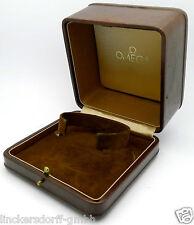 Original Omega estuche/box en marrón-raras - 1960er años F. oro costellation