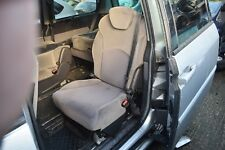 CITROEN C8 2005 RIGHT REAR FOLDING INDEPENDENT SEAT 2 TONE  BEIGE / GREY