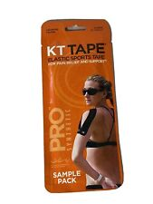KT Tape Pro Synthetic Pre-Cut Strips - Sample Pack