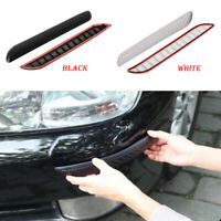 2x Car Anti Scratch Body Bumper Corner Guard Protector Cover Sticker Accessories