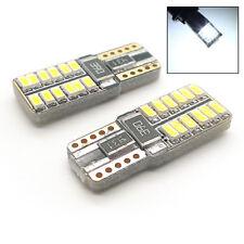 2 x XENON WEIß 24 SMD LED STANDLICHT W5W T10 501 passend für Ford rtnp1038w