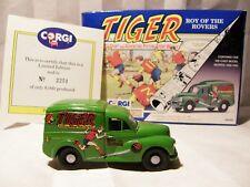 CORGI - COMIC CLASSICS -Morris 1000 Van-TIGER ROY OF THE ROVERS - BOXED -LTD EDN