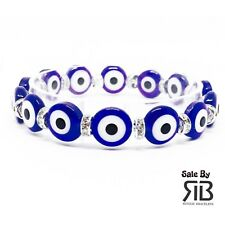 Acrylic Evil Eye Lucky Stretch Bracelet  Pulsera de Ojitos para Proteccion
