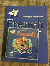 So You Really Want To Learn French Book One Set