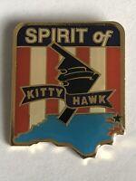 B-2 Stealth Bomber Spirit of Kittyhawk (North Carolina) Lapel/Hat Pin Back