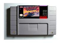 F-Zero SNES 16-Bit Game Cartridge USA NTSC Only English Language
