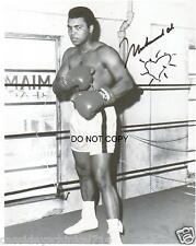 "Muhammad Ali Reprint Signed 8x10"" Photo #3 Legendary Heavyweight Boxing Champion"