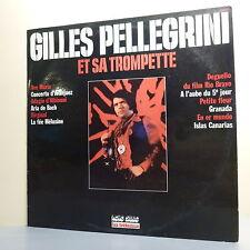 """33T Gilles PELLEGRINI Disque LP 12"""" TROMPETTE ALBINONI BACH - LES TRETEAUX 6239"""