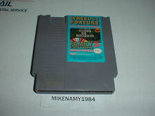 WHEEL OF FORTUNE: FAMILY EDITION game cartridge only Nintendo NES system
