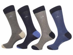 Calvin Klein Men's Patterned Crew Socks 4-Pairs