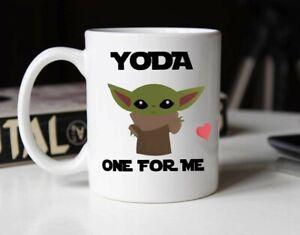 Yoda One For Me Funny Novelty Coffee Mug - Ceramic Mug 15oz & 11oz