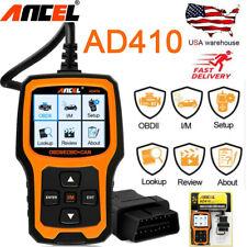 AD410 OBD2 code reader erase error codes Car Engine diagnostic scanner tool
