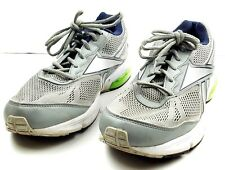 Reebok Athletic Running Sneakers Shoes Men Size 13 US Mesh Silver Green