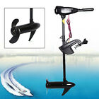 12V+Outboard+Thruster+Electric+Trolling+Motor+Fishing+Boat+Brush+Motor+46lbs+USA