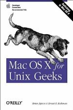 Mac Os X for Unix Geeks by Ernest E. Rothman Paperback Book The Fast Free