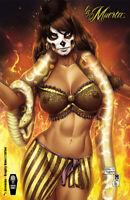 "Lady Death La Muerta #1 Ascension ""Naughty Mama Z"" DeBalfo  Ltd. Ed. 150 Comic"