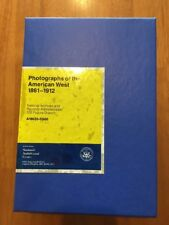 Photographs of the American West 1861-1912 196 Slides National Audio Visual