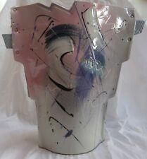 """Petrakovitz Pottery Vase #91 Pastels 14.5"""" x 15"""""""