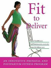 Fit to Deliver: An Innovative Prenatal and Postpartum Fitness Program: Safe and
