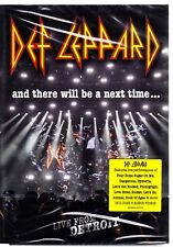 DEF LEPPARD - AND THERE WILL BE A NEXT TIME ... LIVE FROM DETROIT DVD