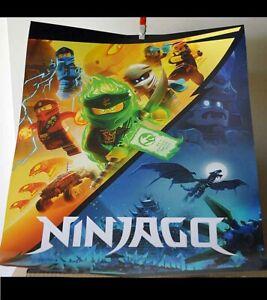 san diego Comic Con LEGO poster Ninjago 16x20