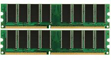 2GB 2X 1GB DDR SDRAM PC2700 2700 333 LOW DENSITY 184Pin