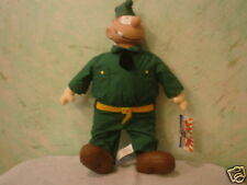 "3pc - Beetle Bailey  -""Plush lot"" - Sarge - General - Beetle -  have tags - RARE"